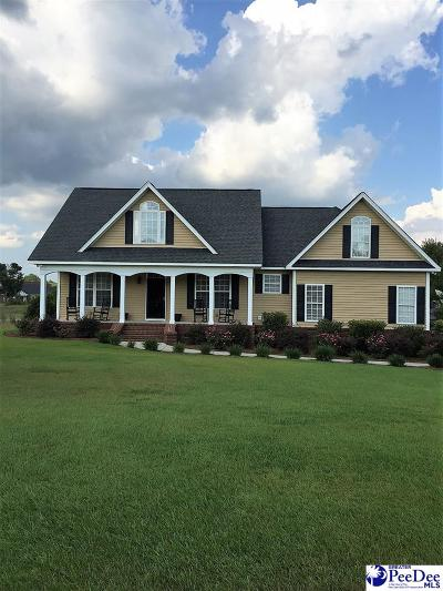 Hartsville Single Family Home Uc/Show For Back Up: 1454 Manchester Drive