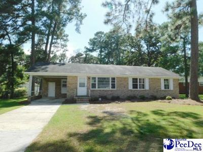 Florence Single Family Home For Sale: 3612 Carroll Dr