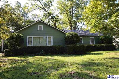 Hartsville Single Family Home Uc/Show For Back Up: 1409 W Carolina Ave
