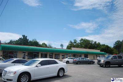 Florence, Flrorence, Marion, Pamplico Commercial For Sale: 1210 W Evans Street