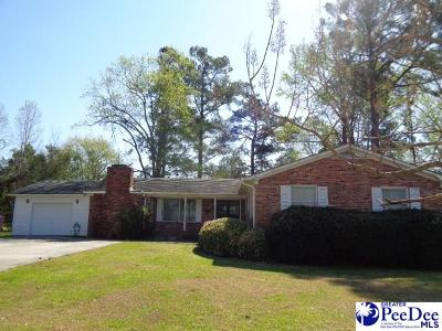 Marion SC Single Family Home Uc/Show For Back Up: $107,500