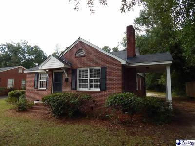 Florence Single Family Home For Sale: 901 Cherokee Road