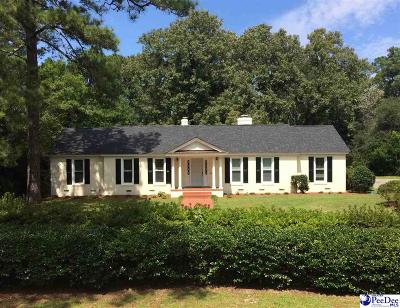 Hartsville Single Family Home For Sale: 1800 W Carolina Avenue