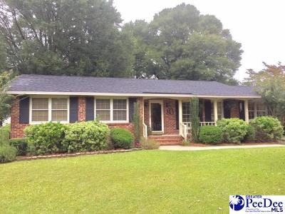 Hartsville Single Family Home For Sale: 508 Clyburn