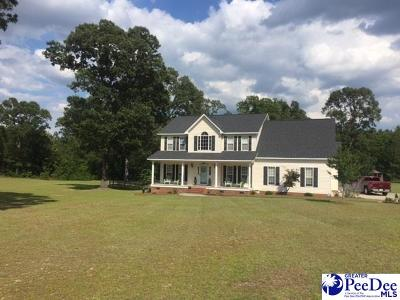 Hartsville Single Family Home For Sale: 317 Woodpecker