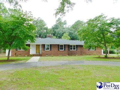 Hartsville Single Family Home For Sale: 132 Yaupon Dr