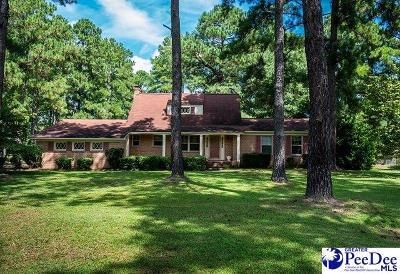 Florence Single Family Home For Sale: 4201 Pine Needles Road