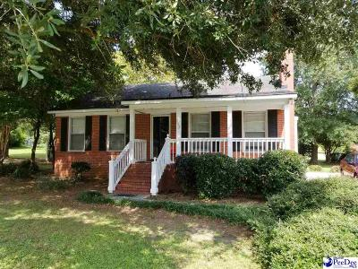 Hartsville Single Family Home For Sale: 313 S 11th Street