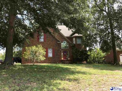 Florence Single Family Home For Sale: 1324 Cottingham Rd