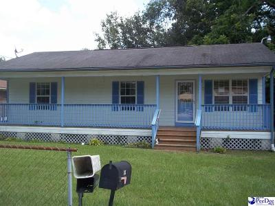 Hartsville Single Family Home For Sale: 313 Logan Ave