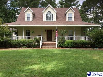 Florence Single Family Home For Sale: 2421 Francis Marion Rd