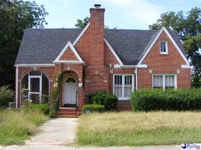 Timmonsville Single Family Home Uc/Show For Back Up: 105 E Market