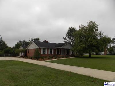 Bennettsville Single Family Home For Sale: 209 Memory Lane