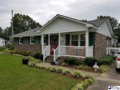 Bennettsville Single Family Home Uc/Show For Back Up: 741 Heritage