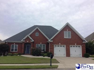 Florence Single Family Home For Sale: 909 Bromley Hall