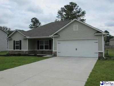 Florence SC Single Family Home Uc/Show For Back Up: $147,000