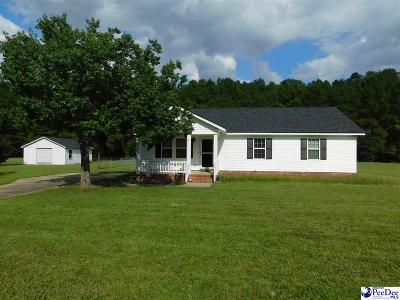 Florence SC Single Family Home Uc/Show For Back Up: $119,900