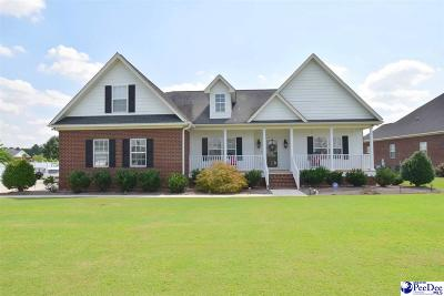 Florence SC Single Family Home Uc/Show For Back Up: $282,400