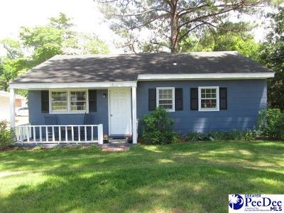 Florence SC Single Family Home New: $84,900