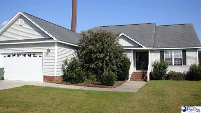 Florence SC Single Family Home New: $154,900
