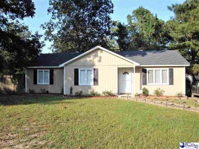 Florence SC Single Family Home New: $119,999