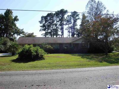 Florence SC Single Family Home Uc/Show For Back Up: $180,000