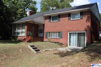 Florence SC Single Family Home New: $165,000