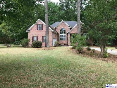 Florence SC Single Family Home For Sale: $225,900