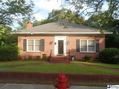 Hartsville Single Family Home New: 502 Bedford