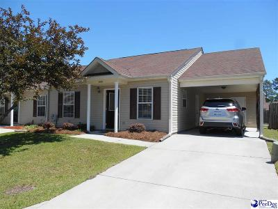 Florence SC Condo/Townhouse For Sale: $126,900