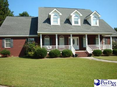 Florence SC Single Family Home For Sale: $289,000