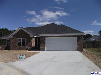 Florence SC Single Family Home Uc/Show For Back Up: $160,000