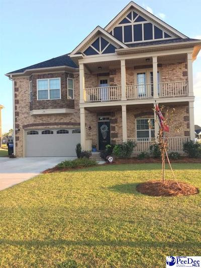 Florence SC Single Family Home For Sale: $278,500