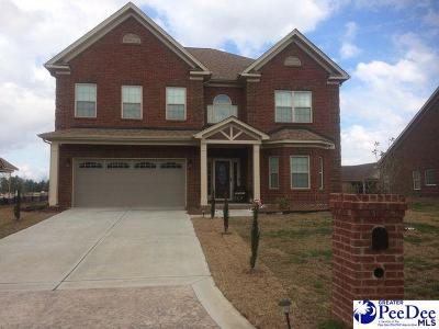Florence SC Single Family Home Uc/Show For Back Up: $280,490