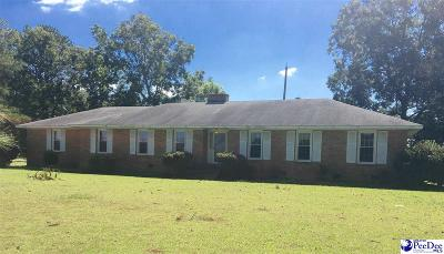 Hartsville Single Family Home For Sale: 1921 E Bo Bo Newsom Hwy