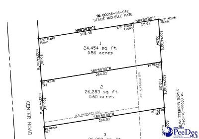 Florence Residential Lots & Land For Sale: Center Road Lot 1