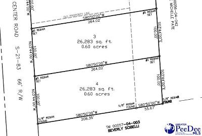 Florence Residential Lots & Land For Sale: Center Road Lot 4