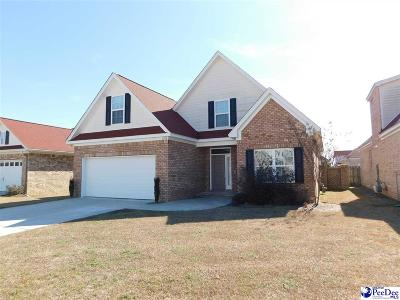 Florence SC Single Family Home For Sale: $249,900