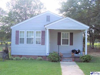Dillon SC Single Family Home For Sale: $47,000