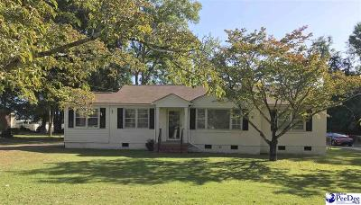 Hartsville Single Family Home Uc/Show For Back Up: 201 Gandy Drive