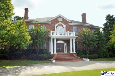 Florence SC Single Family Home Uc/Show For Back Up: $925,000