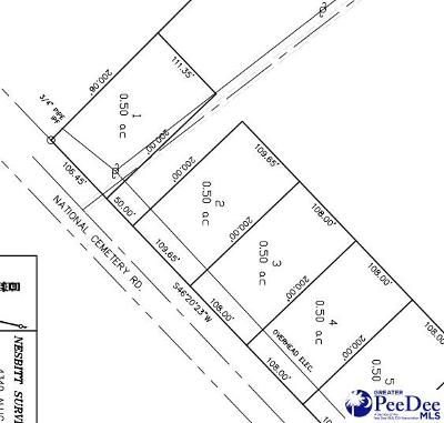 Florence Residential Lots & Land For Sale: National Cemetery Road Lot 3