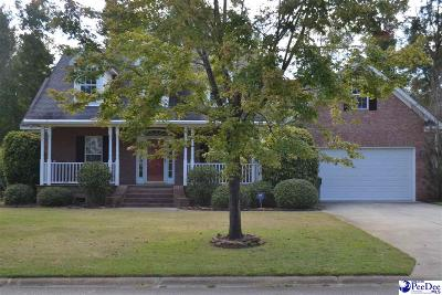 Florence Single Family Home Uc/Show For Back Up: 2737 Olde Mill Road