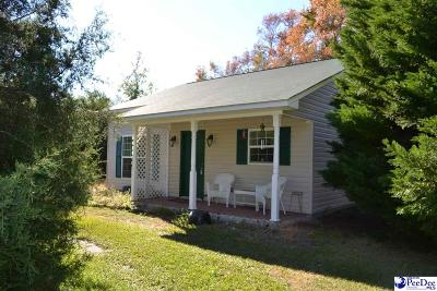 Darlington SC Single Family Home For Sale: $139,900
