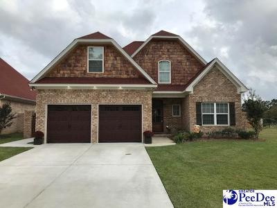 Florence County Single Family Home Uc/Show For Back Up: 1009 Via Salvatore