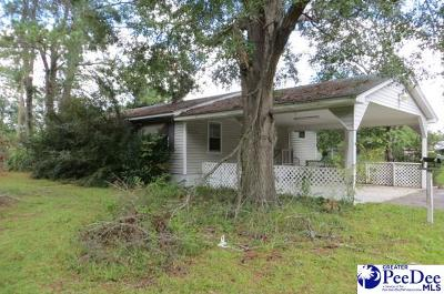 Florence Single Family Home For Sale: 2529 S Charleston Rd