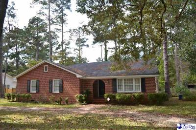 Quinby SC Single Family Home Uc/Show For Back Up: $79,900
