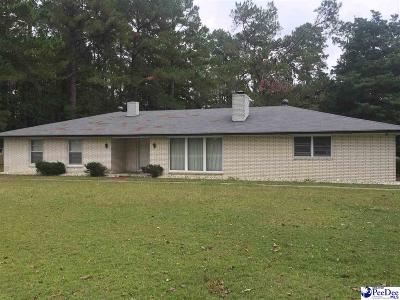 Darlington Single Family Home Uc/Show For Back Up: 1613 Lamar Hwy