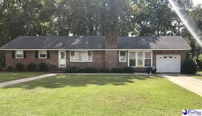 Hartsville Single Family Home For Sale: 529 Lakeview Blvd