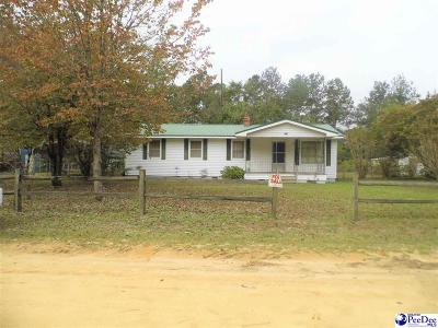 Dillon SC Single Family Home For Sale: $54,000